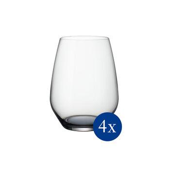 Colourful Life Cosy Grey set di bicchieri da cocktail/acqua 4 pezzi