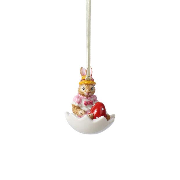 Bunny Tales ornamento Anna nella ciotola uovo, , large