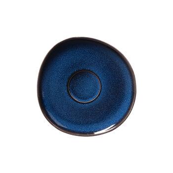 Lave bleu piattino per tazza da caffè, 15,5cm