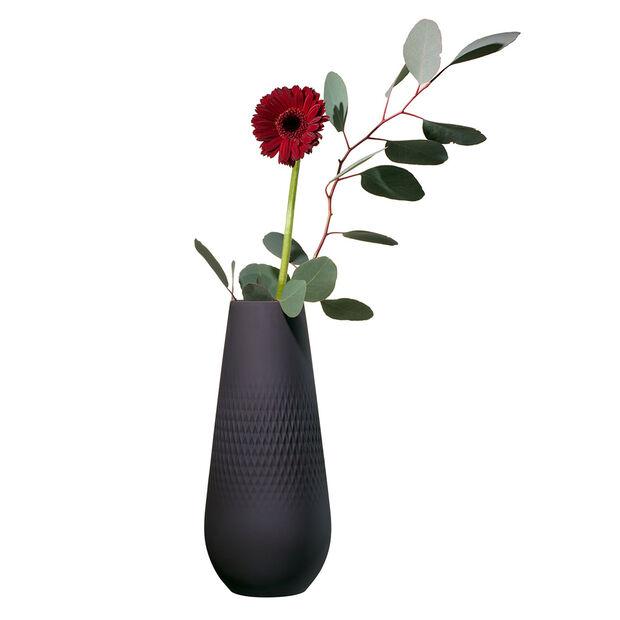 Manufacture Collier noir Vaso Carré alto 11,5x11,5x26cm, , large