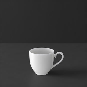 White Pearl tazza da espresso senza piattino