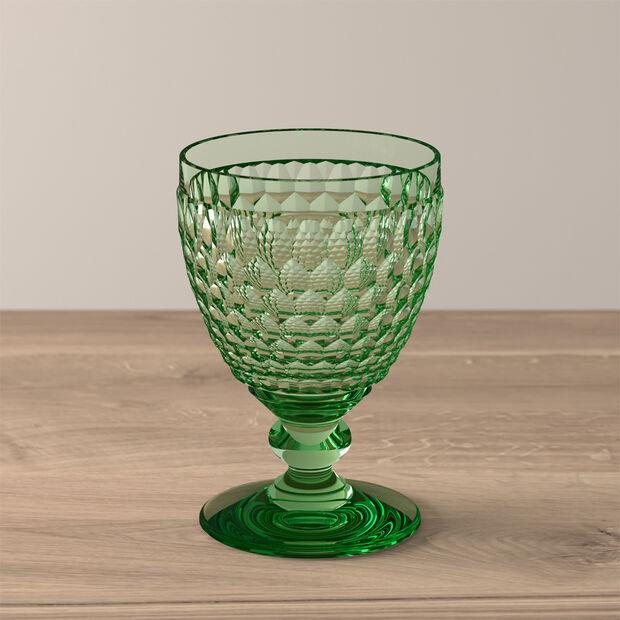 Boston Coloured Bicchiere da vino rosso Green, , large