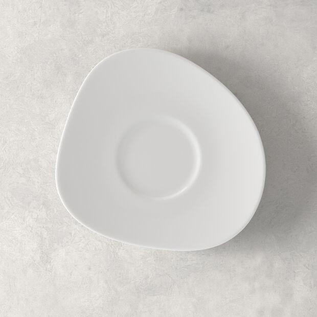 Organic White piattino per tazza da caffè, bianco, 17,5 cm, , large