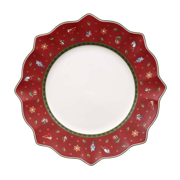 Toy's Delight piatto piano rosso, , large