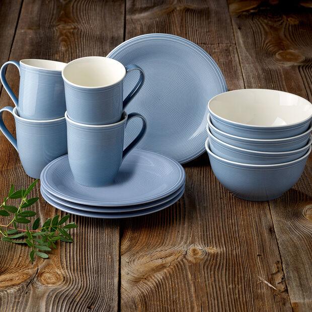 Color Loop Horizon set da colazione, azzurro, 12 pezzi, , large