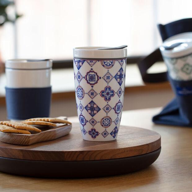 Modern Dining To Go Indigo tazza mug da viaggio, , large