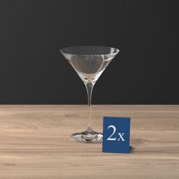 Purismo Bar bicchiere da cocktail/Martini set da 2