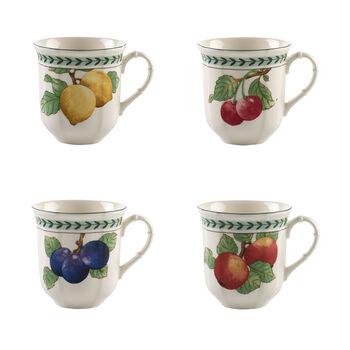 French Garden Modern Fruits tazza jumbo set da 4