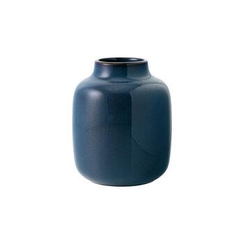 Lave Home jarrón Shoulder, 12,5x12,5x15,5cm, azul claro monocromo