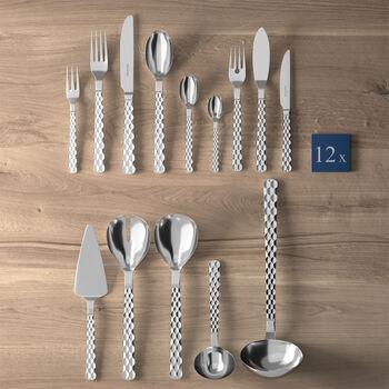 Boston cubertería de mesa Lunch de 113 piezas