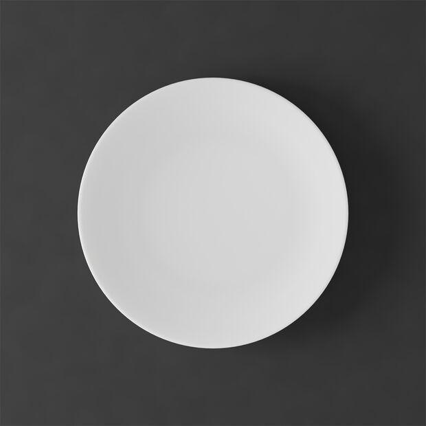 MetroChic blanc Piatto da dessert/colazione 22x22x2cm, , large
