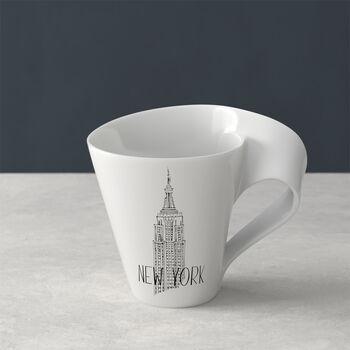 Modern Cities taza grande de café, New York, 300ml
