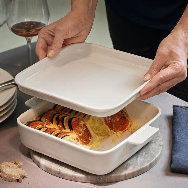 Clever Cooking Piatto di portata / Coperchio quadrato 22x22cm, , large