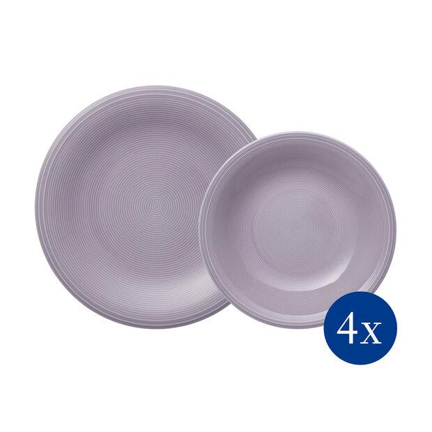 Color Loop BlueBlossom set de mesa, azul, 8 piezas, , large