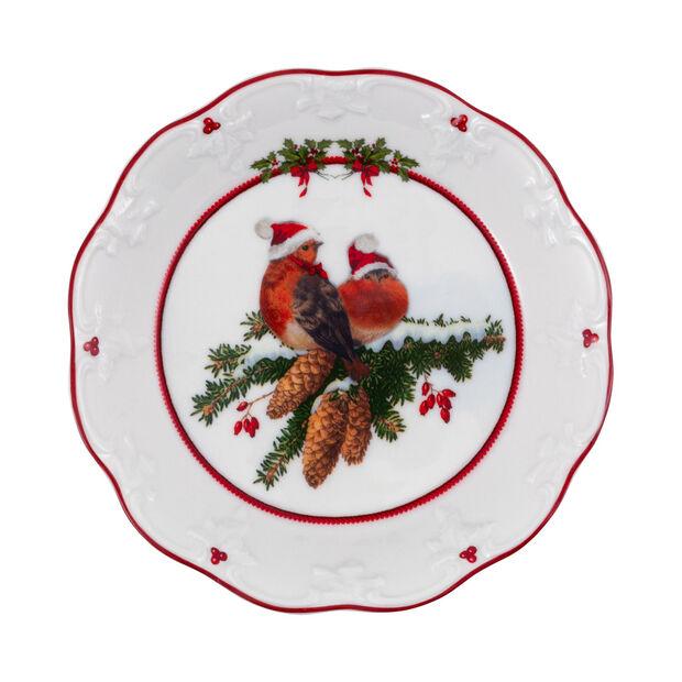 Toy's Fantasy ciotola piccola uccelli, multicolore/rossa/bianca, 17 x 17 x 3 cm, , large