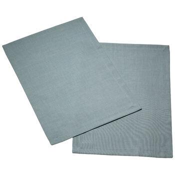 Textil Uni TREND Salvamanteles blue fox Set 2 35x50cm