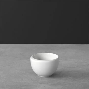 NewMoon tazzina da caffè, senza manico, 100 ml, bianco
