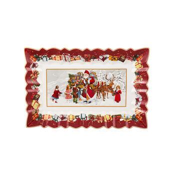 Toy's Fantasy Piatto torta quad., 35x23x3,5cm
