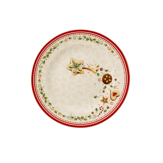 Winter Bakery Delight Plato postre, estrella fugaz, , large