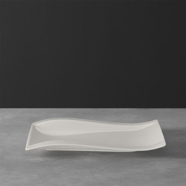 NewWave piatto da colazione rettangolare 26 x 20 cm, , large