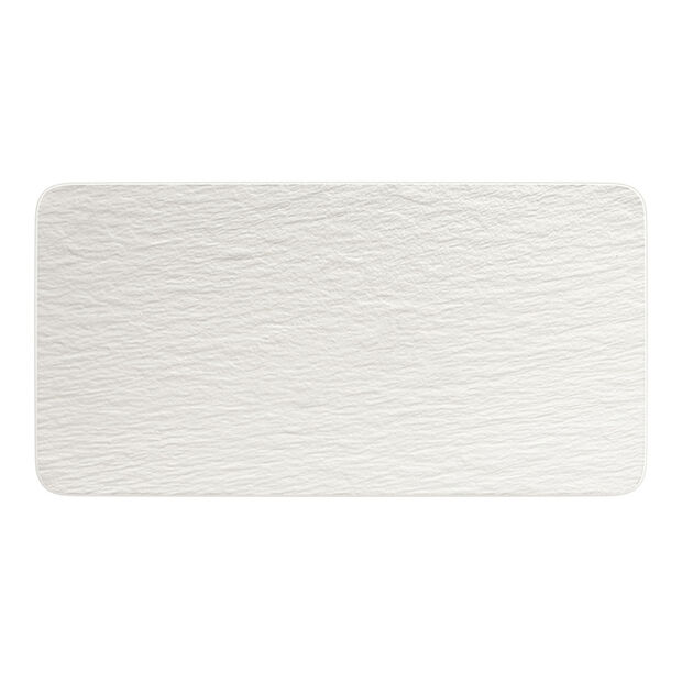Manufacture Rock Blanc piatto da portata rettangolare, bianco, 35 x 18 x 1 cm, , large