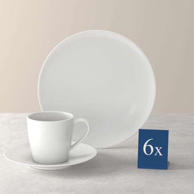 Voice Basic set de café, blanco, 18 piezas, , large