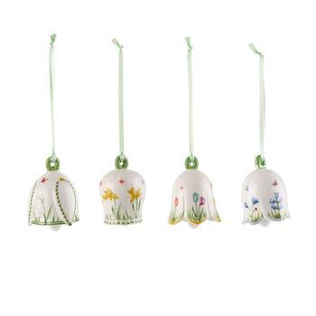 New Flower Bells Set decorazioni, 4pz