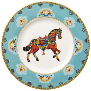 Samarkand Aquamarin piatto da colazione