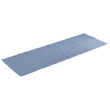 Textil News Breeze striscia blu chiaro 50x140cm