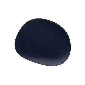 Organic Dark Blue piatto da colazione, blu scuro, 21 cm