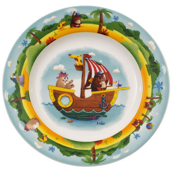Plato llano infantil Chewy's Treasure Hunt