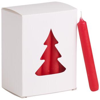 Essentials Candela Candela nat. rossa Set 24 8x10,5x5,5cm