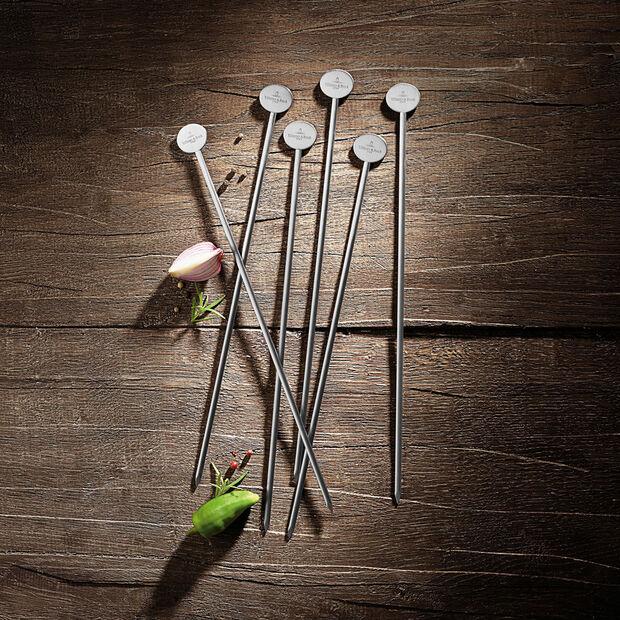 BBQ Passion set de 6 brochetas, , large