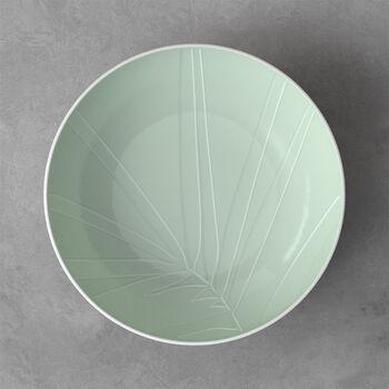 it's my match scodella da portata Leaf, 26x6,5 cm, verde minerale