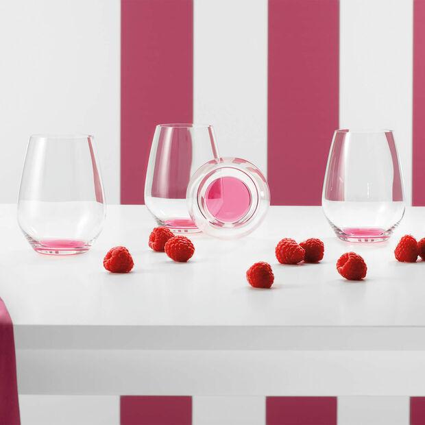 Colourful Life Bicchiere Set 4pz Berry Fantasy 109mm, , large