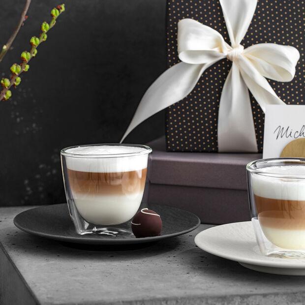 Manufacture Rock Piattino tazza caffè latte 17x17x2cm, , large