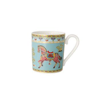 Samarkand Aquamarin tazza grande da caffè con manico