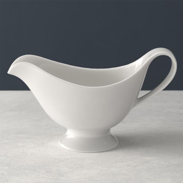 For Me salsiera, bianco, 21 x 10 cm, 400 ml, , large