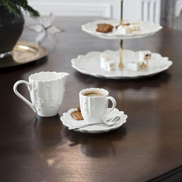 Toy's Delight Royal Classic piattino per tazza espresso/moka, bianco, 14 cm, , large