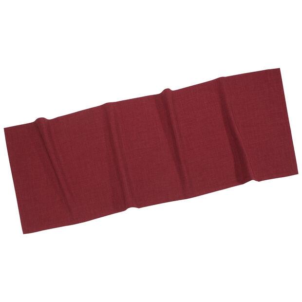 Textil Uni TREND Striscia bordeaux 50x140cm, , large