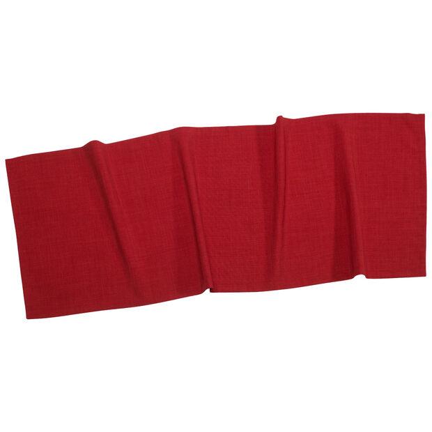 Textil Uni TREND Striscia rosso 50x140cm, , large