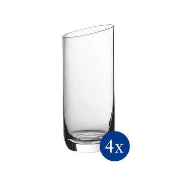 NewMoon set di bicchieri da long drink, 370 ml, 4 pezzi