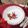 Toy's Delight piatto da portata, multicolore/rosso/bianco, 45 cm, , large