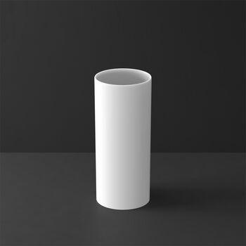 MetroChic blanc Gifts Florero alto 13x13x30,5cm