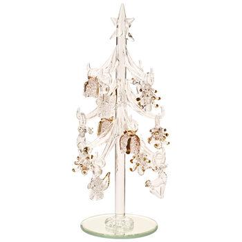 Winter Collage Accessoires Albero vetro c ornamenti 8cm