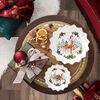 Toy's Fantasy fuente pequeña con motivo de cervatillo y regalos, varios colores/rojo/blanco, 16,5 x 16,5 x 3 cm, , large