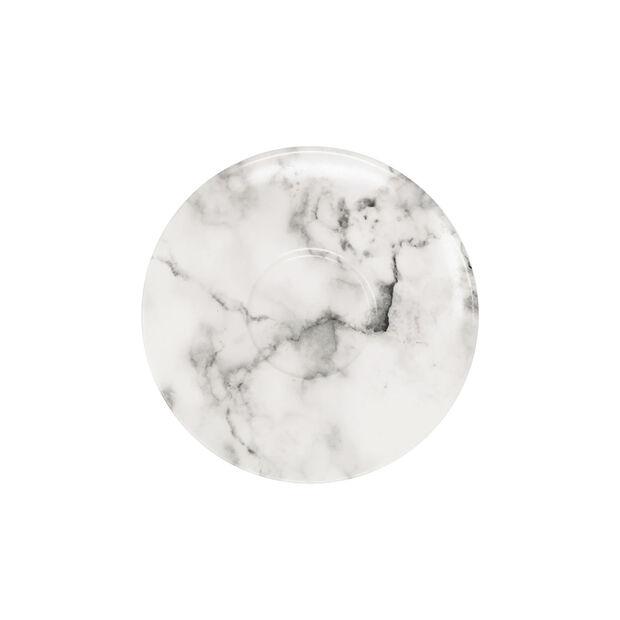 Marmory piattino per tazza da caffè White, 16x16x2cm, , large