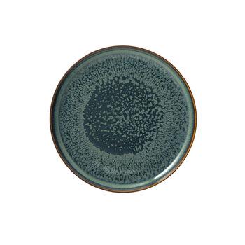 Crafted Breeze piatto da colazione, grigio-blu, 21 cm