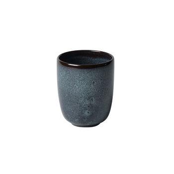 Lave gris tazza senza manico 9x9x10,5cm