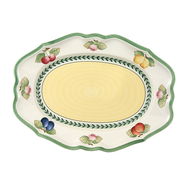 French Garden Fleurence fuente ovalada 37  cm, , large